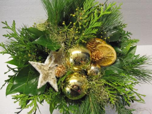 Advent weihnachts blumen u str usse bl mchen floristik for Floristik versand