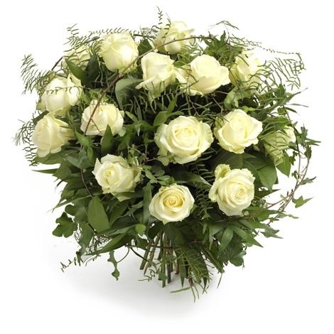 Blumenstrauss Weisse Zartlichkeit Versand Fur Blumen Pflanzen