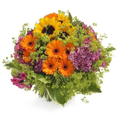 Business blumen strauss nr 1 bl mchen floristik versand for Floristik versand